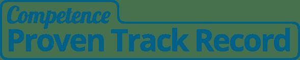 competence proven track record graphic